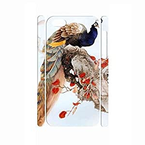 TYHH - Glow Vintage Peacock Utilty Glitter Chinese Style Tough Feather Phone Cover for Iphone 6 4.7 Case ending phone case