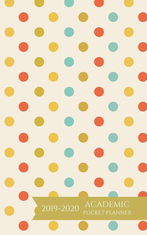 Amazon.com: Academic Pocket Planner 2019-2020: Polka Dots ...