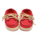 Denim Soft Sole Sneaker PLOT Baby Boys Girls Kids Cute Casual Shoe(Toddler/Little Kid)