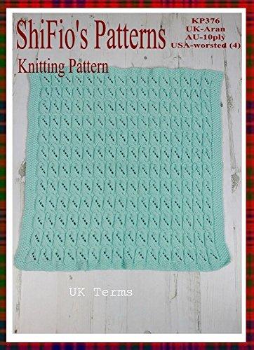 Amazon Knitting Pattern Kp376 Baby Blanket Afghan Pattern