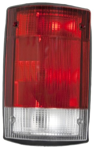 OE Replacement Ford Econoline Van/Excursion Driver Side Taillight Assembly (Partslink Number (Light Lh Driver Side Van)