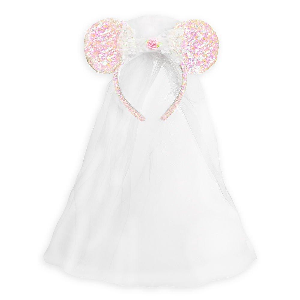 Disney Minnie Mouse Ear Headband - Bride