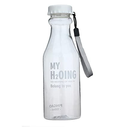 STRIR Botella de Agua Deporte 550ml, Eco-Friendly de plastico - sin BPA,
