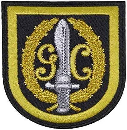 Gemelolandia Parche Termoadhesivo Guardia CIvil G.A.R. 8,5x8cm: Amazon.es: Ropa y accesorios