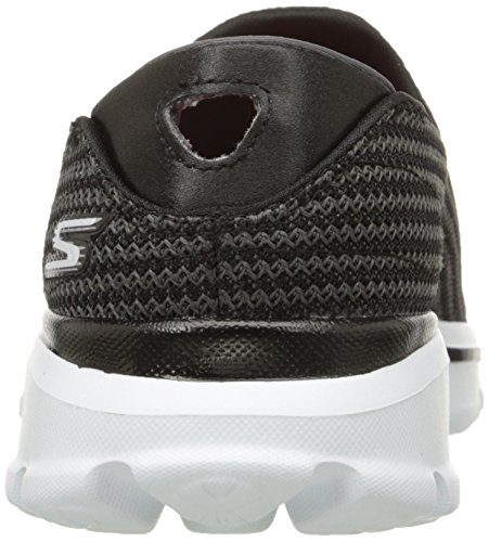 Skechers Go Walk 3, Zapatillas Deportivas, Mujer Negro (Black/White Bkw)