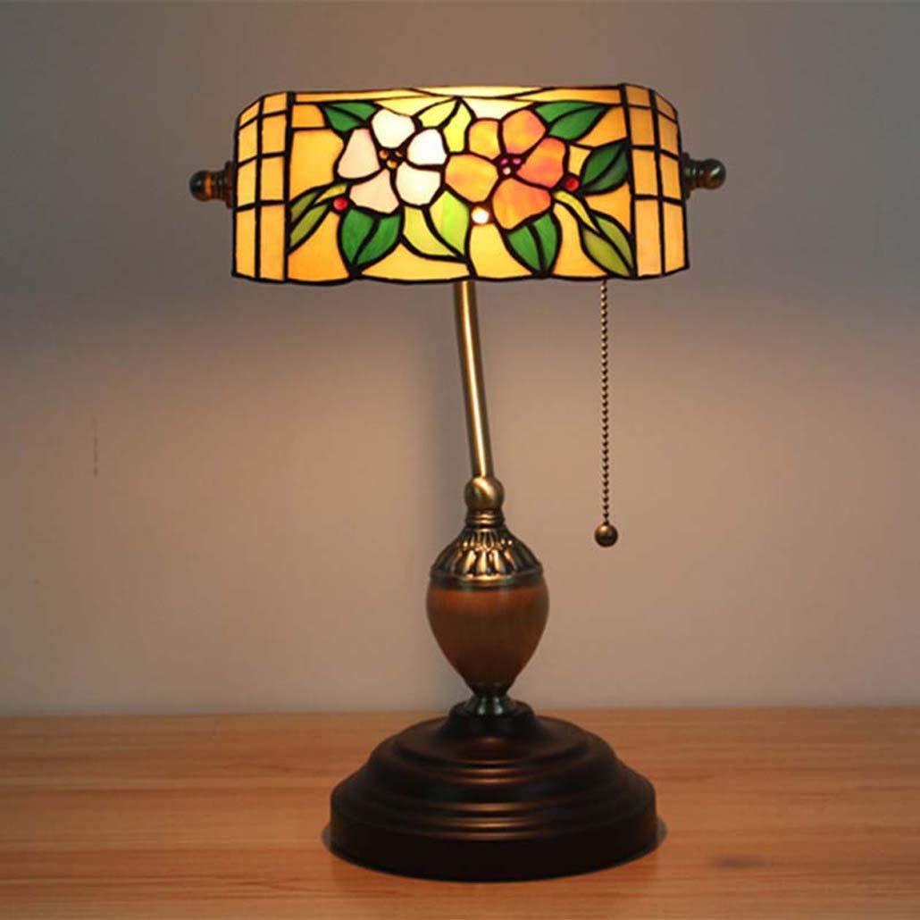 Amazon.com: GLMAMK Tiffany Style Table Lamp, Vintage ...