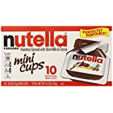 Nutella Mini Cups, 10 Count (Pack of 12)