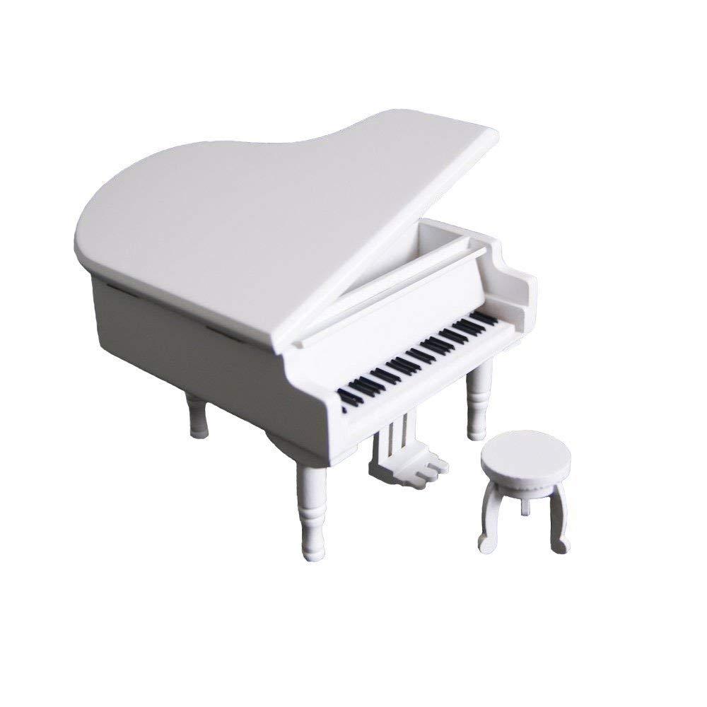 素晴らしい外見 スカイミニ キュート 天空の城 木製 ピアノ オルゴール キュート デリケート ベンチ 天空の城 ホワイトカラー オルゴール B07KCNBFK6, ドレス通販 アールズガウン:46e88799 --- svecha37.ru