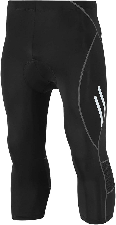 Mens Cycling Bib Tights Lycra Coolmax Padded MTB Road Bike Long Pants Leggings