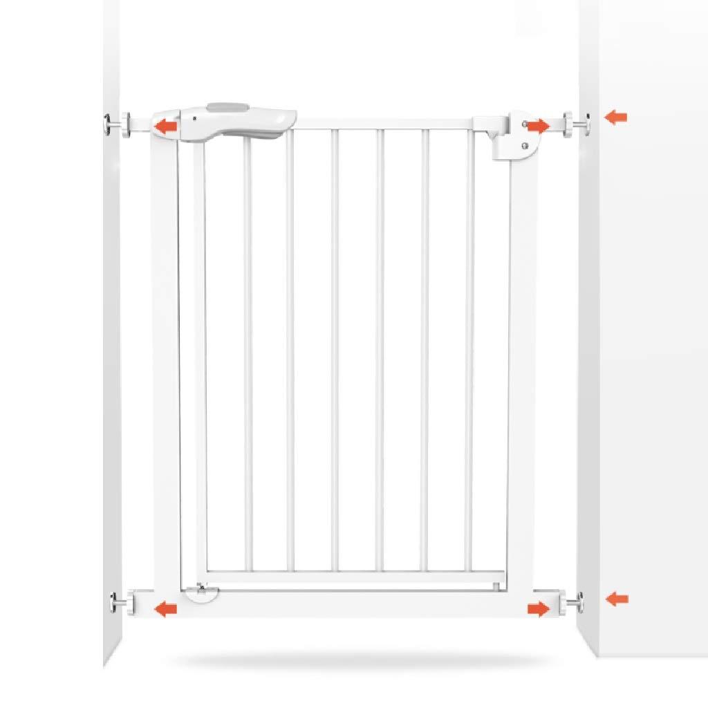 ベビーゲート、オートクローズセーフティゲート金属拡張可能な圧力マウント付きベビーペットゲート、階段、キッチン、リビングルーム、バルコニーに適して   B07TTMTZS1
