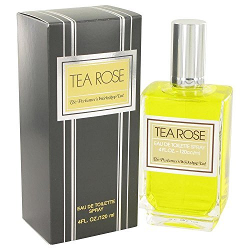 - TEA ROSE by Perfumers Workshop Eau De Toilette Spray 4 oz for Women - 100% Authentic