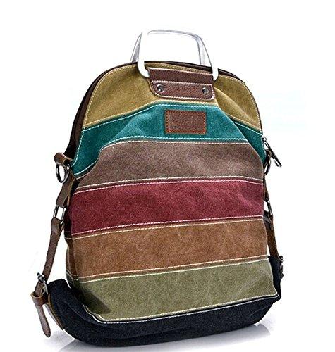 Shoulder Bag Canvas Multi Color Shopper Color GOLD Model Women's KISS TM Multi C Tote FUwz6