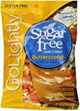 GoLightly Sugar Free Butterscotch Candy, 2.75-Ounce Bags (Pack of 12)