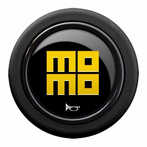 - MOMO Steering Wheel Horn Button Heritage 58mm Genuine Brand New SPHOHERBLKYER