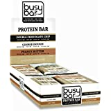 Beschäftigt Bar Grass Fed Whey Protein Bars, Variety Box, Only 1g of Sugar, 13g of Protein, Gluten Free, Low Carb Bar, Soy Free, Non-GMO, Perfect Snack On-the-Go (12 bars)