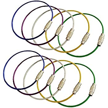 Amazon Com Miraclekoo Multicolor Stainless Steel Wire