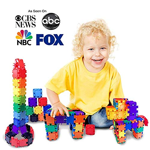 - Jarrby MAX Build More Blocks Magna Snap Cubes -Educational Kids Toddler Toys & Preschool Learning Toys - Juguetes para niños niñas de 2 3 4 5 6 7 8 años.