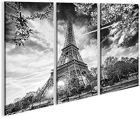 islandburner Quadro Moderno Torre Eiffel París V8 3P ...