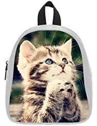 This school bag is much more suitable for kindergarten children/ 2015 Best-selling Animals Kitten Cat Theme Backpack...