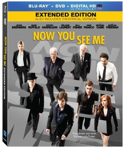 Blu-ray : Now You See Me (With DVD, Ultraviolet Digital Copy, 2 Disc)
