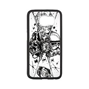Stormtrooper Series, Samsung Galaxy S6 Case, Star Wars Darth Case for Samsung Galaxy S6 [White]