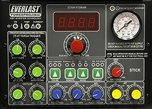 2017 Everlast PowerPro 256Si 250a AC DC TIG Pulse 60a plasma cutter Multi Process Welder from Everlast