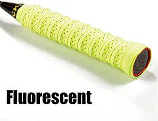DINGWEN Raquette de Badminton Respirante pour Raquette de Tennis