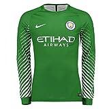 2017-2018 Man City Home Nike Goalkeeper Shirt (Green)