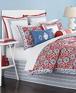 Martha stewart collection bedding ginger jar 6 for Kitchen queen set