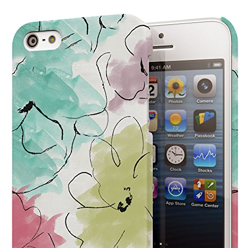 Koveru Back Cover Case for Apple iPhone 5S - Kasumi Art