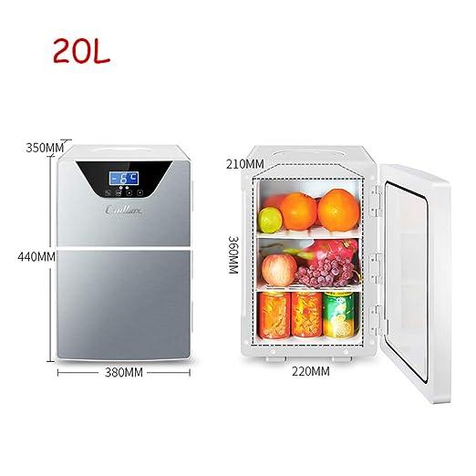 Mini refrigerador Lxn Refrigerador y Calentador eléctrico, versión ...