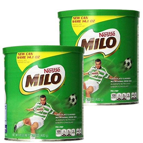 Nestle Milo Chocolate 14.1 OZ (Pack of 2) (Best Hot Chocolate Powder Singapore)