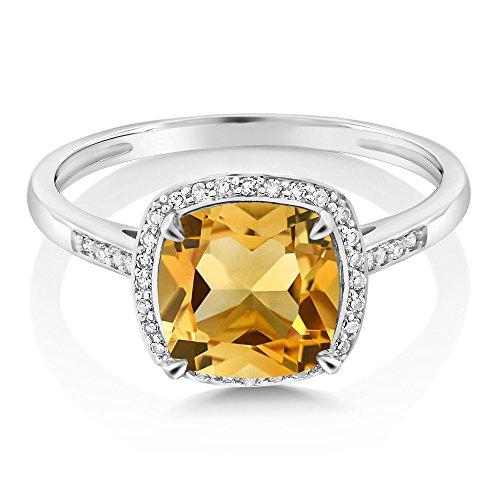 Buy unique yellow diamond engagement