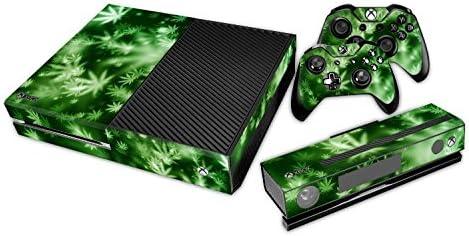 XBOX ONE Skin Design Foils Pegatina Set - Cannabis 4 Motivo ...