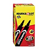 Marks-A-Lot  Large Chisel Tip Permanent Marker Set, Pack of 12 (98028)