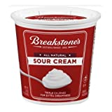 Kraft Dairy Breakstones Sour Cream, 24 Ounce -- 12 per case.