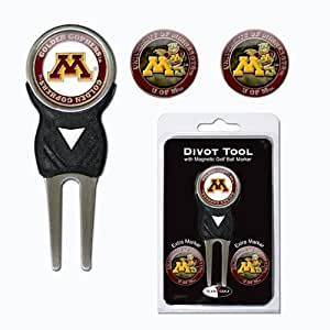 Brand New Minnesota Golden Gophers NCAA Divot Tool Pack w/Signature Tool
