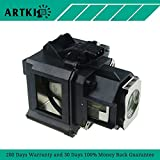 ELPLP47 / V13H010L47 Replacement Lamp for Epson EB-G5100 EB-G5150 PowerLite G5000 PowerLite Pro G5150NL (by Artki)