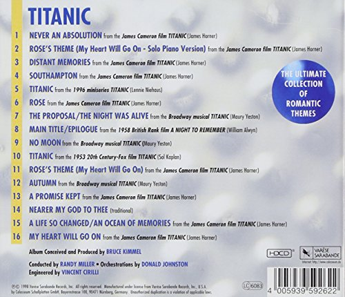 Buy Titanic Romantic Themes Online At Low Prices In India Amazon