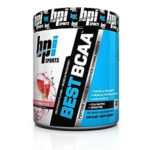 BPI Sports Best BCAA Powder, Watermelon Ice, 10.58 Ounce