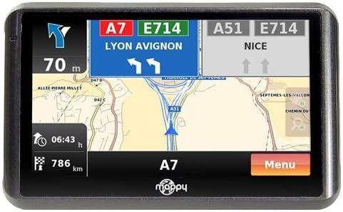 Mappy Ulti 505 ND - GPS para coches con mapas de España y Portugal (incluyendo Azores, Madeira, Canarias y Gibraltar): Amazon.es: Electrónica