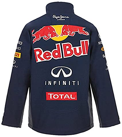Red Bull Official Team Line Softshell Chaqueta Infantil ...