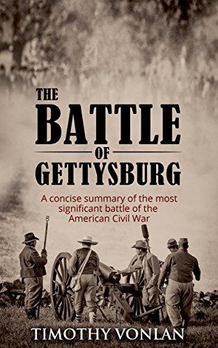 summary of the gettysburg battle