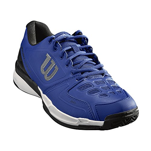 Wilson Men's Rush Comp Tennis Shoes Mazarine Blue/Black/White vYWhzu54X