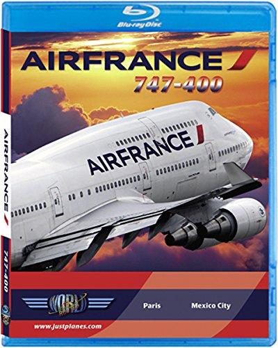 Air France Airbus Boeing 747-400 [Blu-ray]