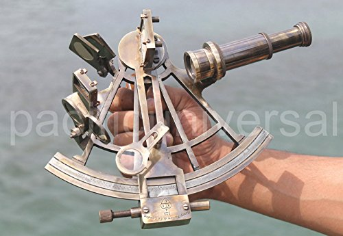 Antique House MARINE COLLECTIBLE NAUTICAL BRASS WORKING SHIP ASTROLABE SEXTANT VINTAGE STYLE.