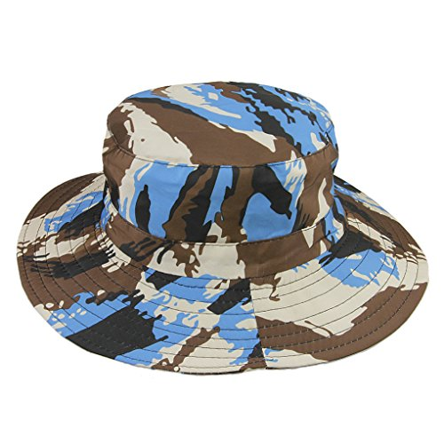 Price comparison product image Kids Wide Brim UV Boonie Hat Sun Visor Protection Cap Child Beach Sun Bucket