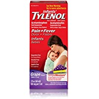 Tylenol Infants' 2 fl oz Grape Oral Suspension Fever Reducer and Pain Reliever