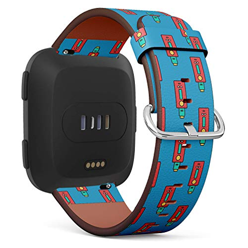 Compatible with Fitbit Versa - Quick-Release Replacement Accessory Leather Band Strap Bracelet Wristbands (Vaporizer Electric Cigarette - Replacement Vaporizer Cigarette