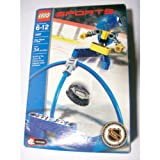 Lego Sports - Blue Player and Goal